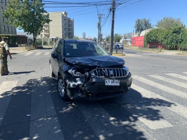 Los Ángeles: Vehículos protagonizan colisión en avenida Oriente