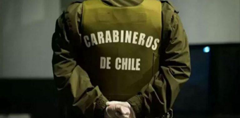 Laja: tres personas de Santiago fueron detenidas por amenazar con pistolas en un condominio
