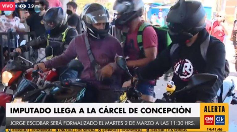 Tío abuelo de Tomás llegó a la cárcel de Concepción: se registran incidentes en el sector