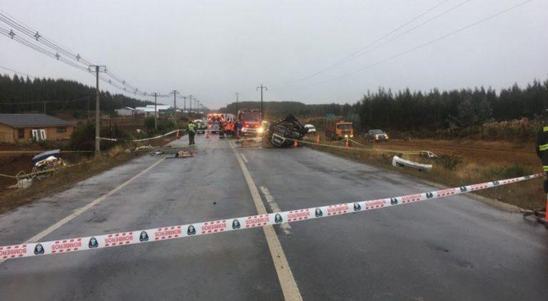 Accidente de tránsito en Los Álamos deja cuatro personas fallecidas