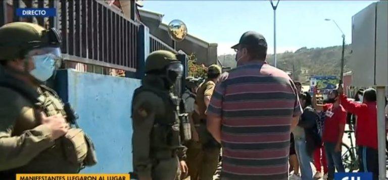 Se registran incidentes en el cuartel PDI donde está detenido el tío abuelo de Tomás Bravo