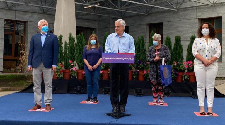 Piñera anuncia extensión del Ingreso Familiar de Emergencia y el Bono Covid
