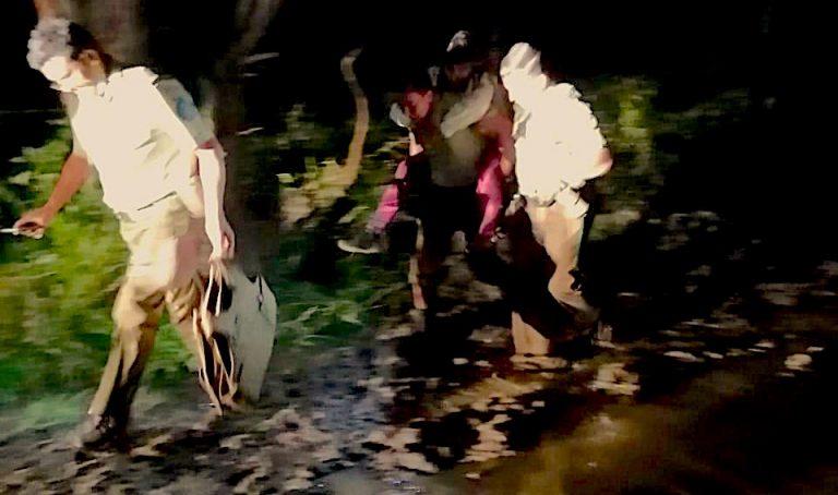 Los Ángeles: Carabineros rescata a mujer que salió a andar en bicicleta y se extravió