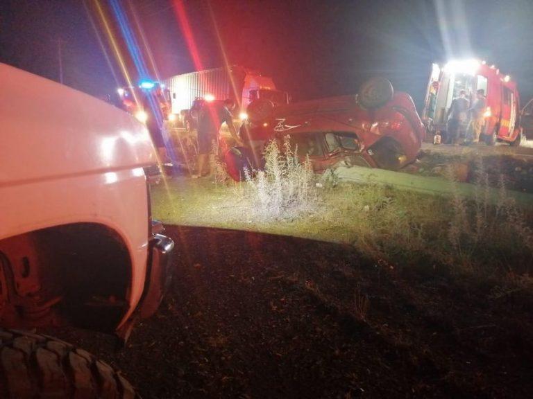 Un muerto y dos heridos deja accidente en la ruta que une Tucapel con Yungay