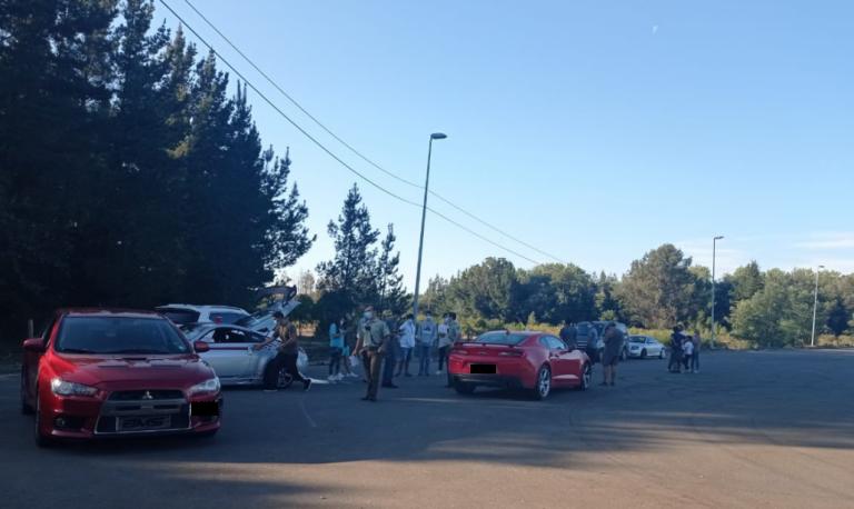 Mulchén: Carabineros detiene a 15 «Torettos VIP» en carreras clandestinas