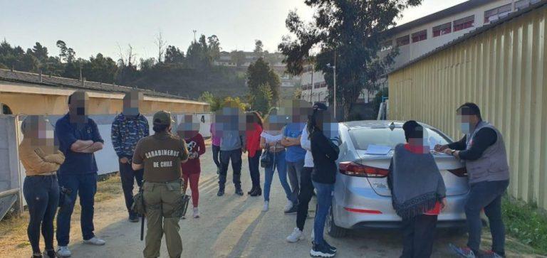 15 detenidos deja operativo en Motel de la región de Valparaíso