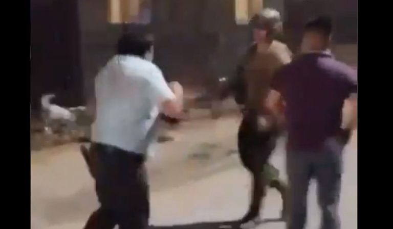 Los Ángeles: inician sumario sanitario contra pastor que agredió a militar durante fiscalización