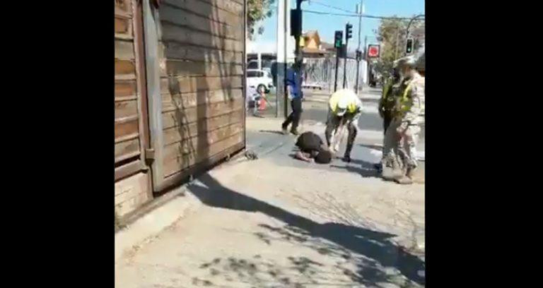 Denuncian brutal agresión de funcionarios del Ejército contra un ciclista