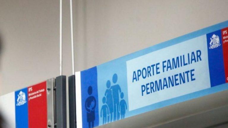Comenzó un nuevo pago del Aporte Familiar Permanente 2021: revisa si te corresponde