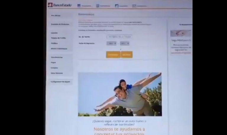 BancoEstado alerta de nueva estafa a usuarios de aplicación móvil: usan página idéntica para engañar