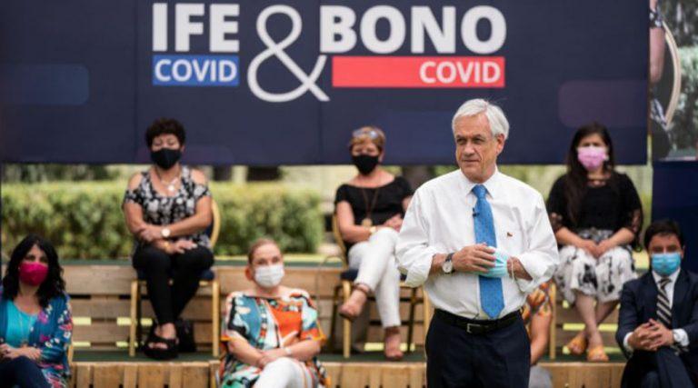 Fin del IFE y Bono Covid: la advertencia del Gobierno si no se extiende el Estado de Catástrofe
