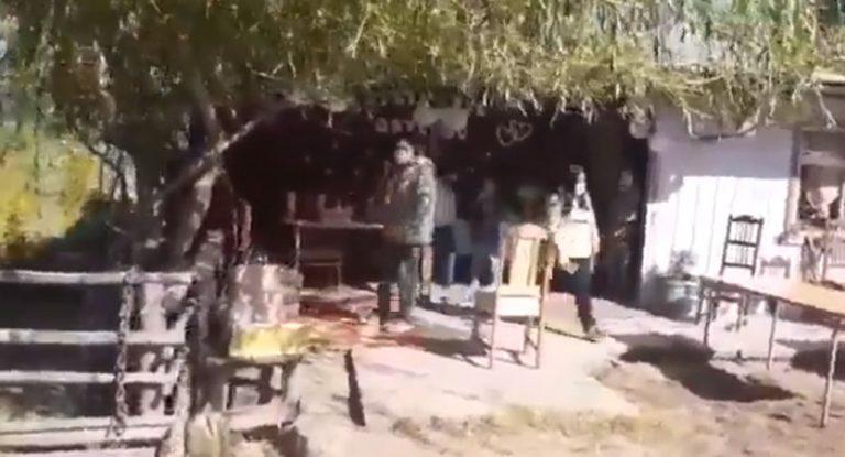 Descubren matrimonio en Cañete: algunos asistentes se escaparon de fiscalizadores
