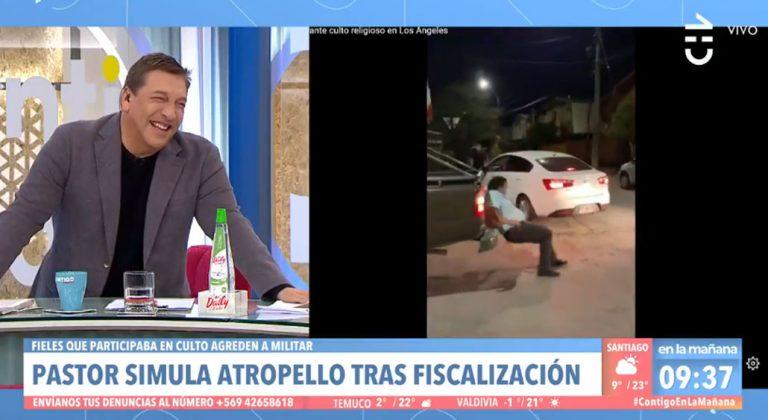 Julio César 'estalló' de risa tras comentar el escándalo que protagonizó pastor de Los Ángeles