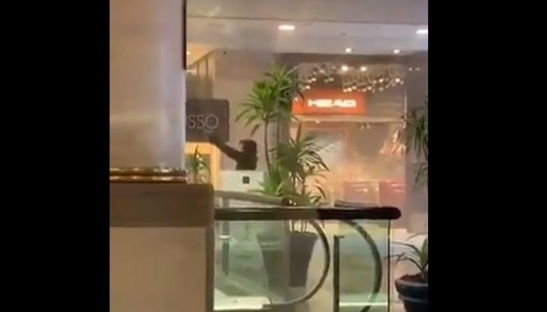 Asaltan joyería al interior de mall capitalino: delincuentes se enfrentaron a balazos con PDI