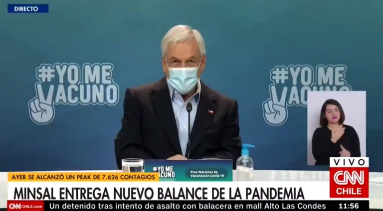 «Gracias presidente»: Paris se llena de críticas tras férrea defensa a Piñera durante balance diario