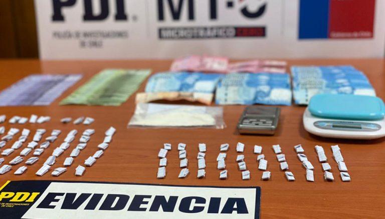 Mulchén: detienen a tres mujeres que vendían drogas en diversos puntos de la comuna