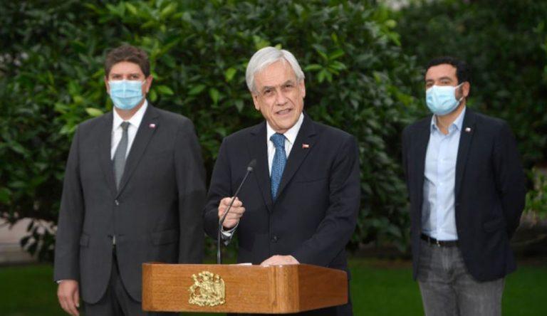 Y así va a pasar un año: Piñera anuncia una nueva extensión del Estado de Catástrofe