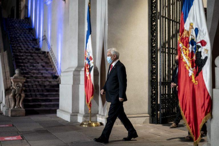 Presidente Piñera anuncia que solicitará al Congreso aplazar las elecciones para el 15 y 16 de mayo