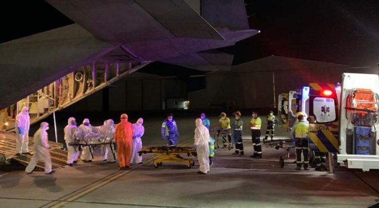 Biobío: 41 pacientes Covid que han sido traslados a otras regiones han muerto