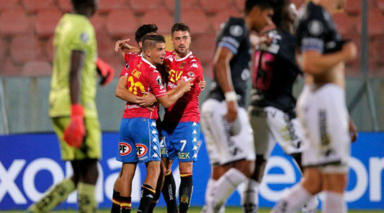 Triunfal debut: Unión Española derrotó a Independiente del Valle y se ilusiona en Libertadores
