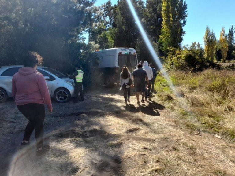 Yumbel: Sorprenden a 10 personas acampando en plena cuarentena