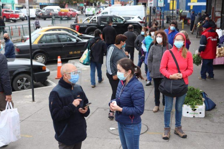 L.A: Vacunatorio móvil de la Vega Techada atendió a 115 personas