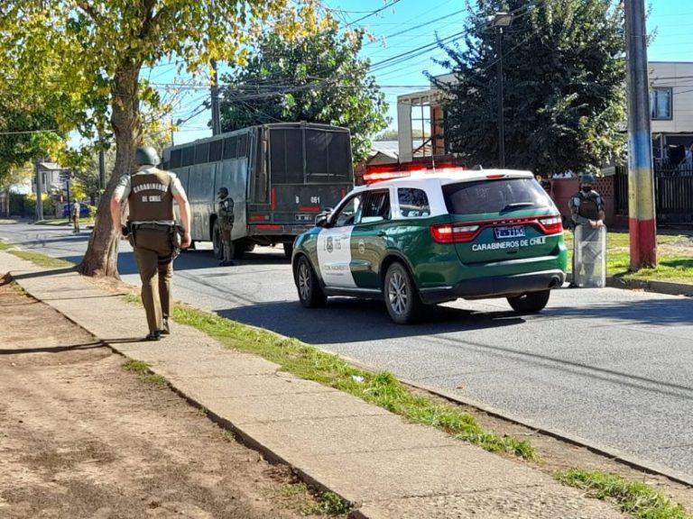 Los Ángeles: Amplio operativo policial en Paillihue