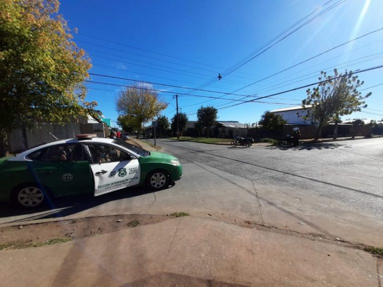 Amplio operativo en Paillihue termina con tres detenidos