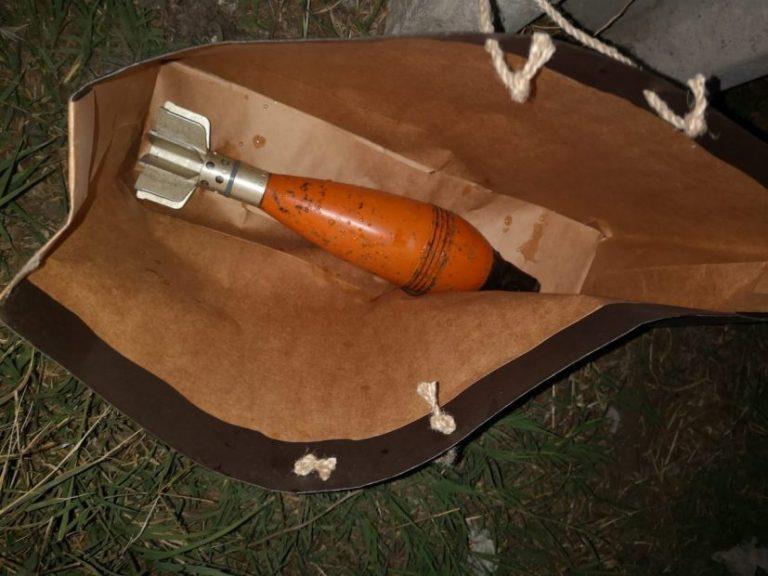 Encuentran proyectil de mortero de guerra en San Pedro de la Paz
