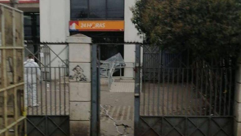 Intentaron explotar cajeros de sucursal de BancoEstado en Talcahuano: no hay detenidos