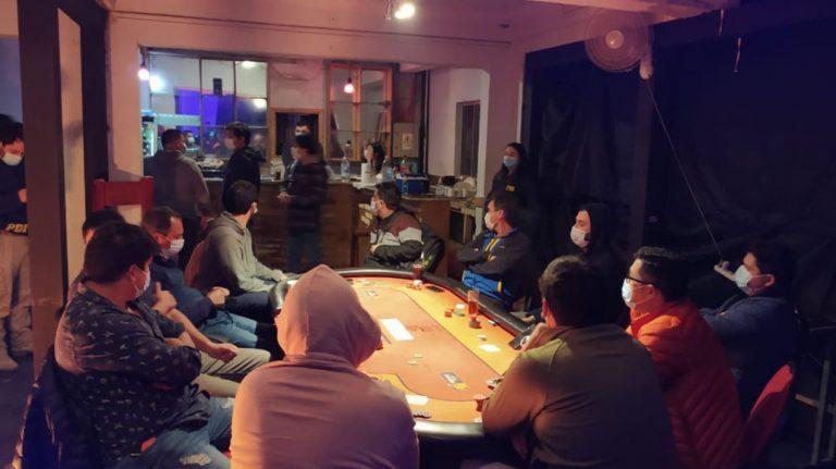 Concepción: descubren a 19 personas dentro de casino clandestino en toque de queda