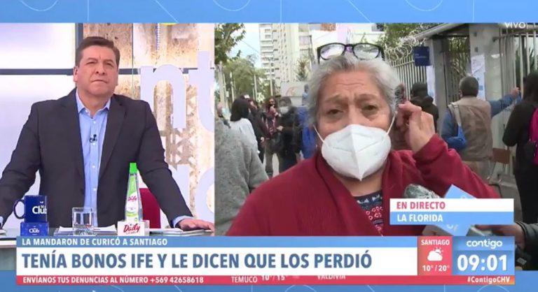 «El presidente fue un cobarde»: el descargo de mujer que debió ir de Curicó a Santiago para tener el IFE