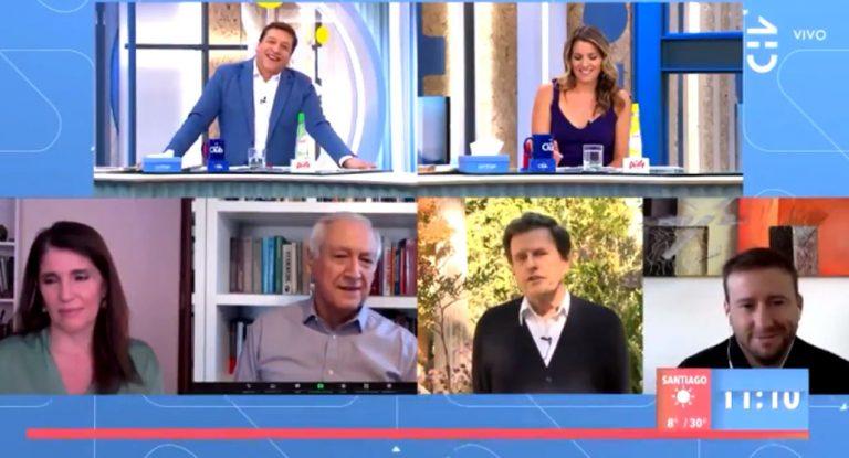«No será Piñera disfrazado»: la broma de Julio César a Carlos Larraín tras oponerse al Tercer Retiro