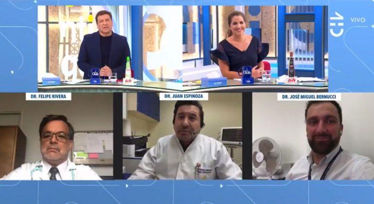 «O francamente esta gente es tarada…»: doctor emitió dura crítica contra el Minsal en matinal de CHV