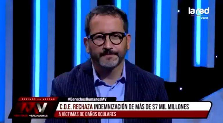 «La han cagado demasiado»: el sentido descargo de Eduardo Fuentes contra el Gobierno