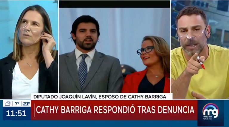Lavín Jr llamó a Mega para quejarse por reportaje sobre Cathy Barriga: revisa el tenso cruce con Neme