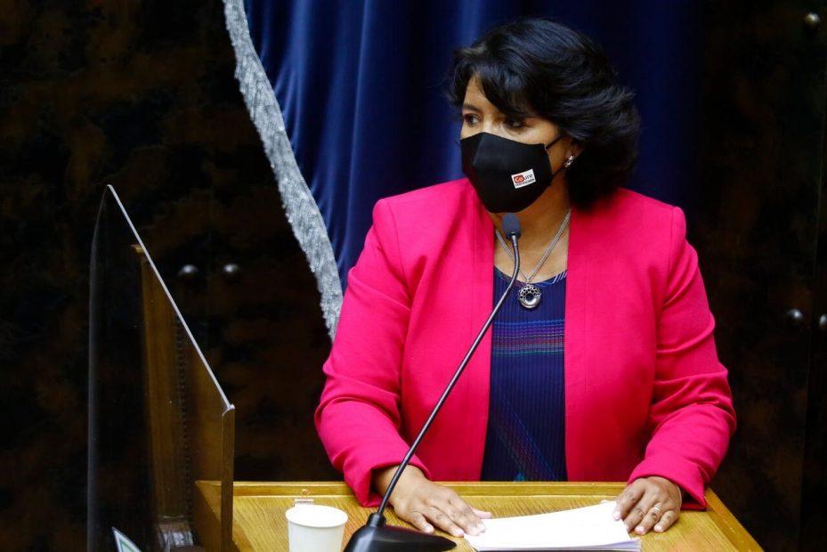 presidenta del senado yasna provoste a piñera tercer retiro afp