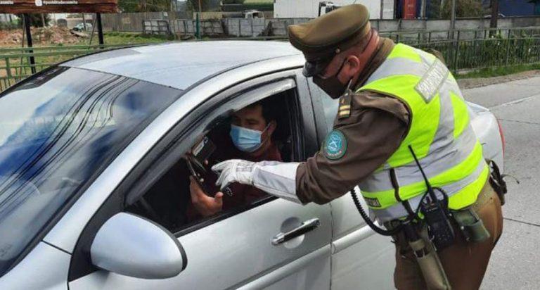 Sujeto ofreció 20 mil pesos a un carabinero para evadir control: terminó detenido por soborno