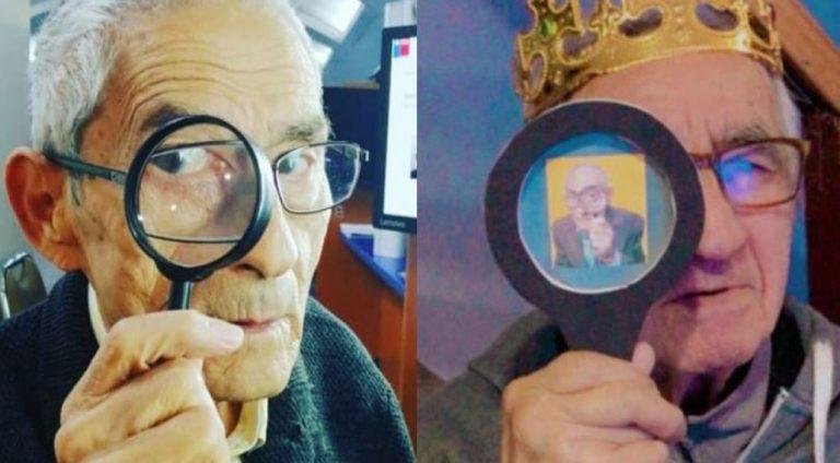Abuelito celebró su cumpleaños a lo 'Agente Topo'. el emotivo gesto que le regaló 'Don Sergio'