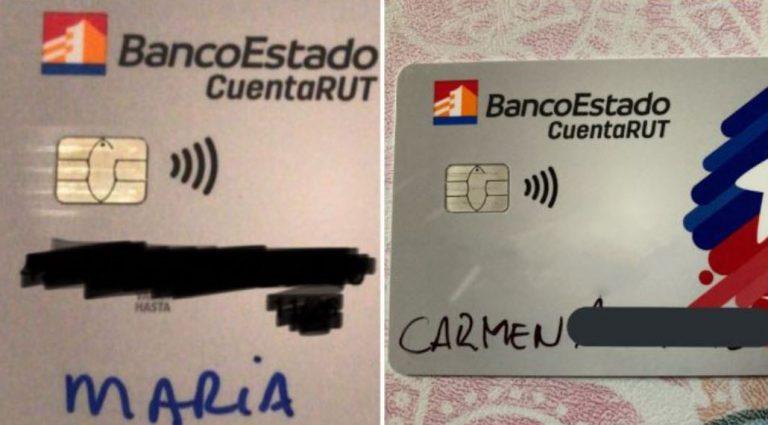Cuenta Rut con plumón: clientes denuncian insólita situación tras sacar la nueva tarjeta