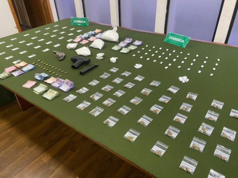 OS7 saca de circulación más de 25 millones en droga en Nacimiento