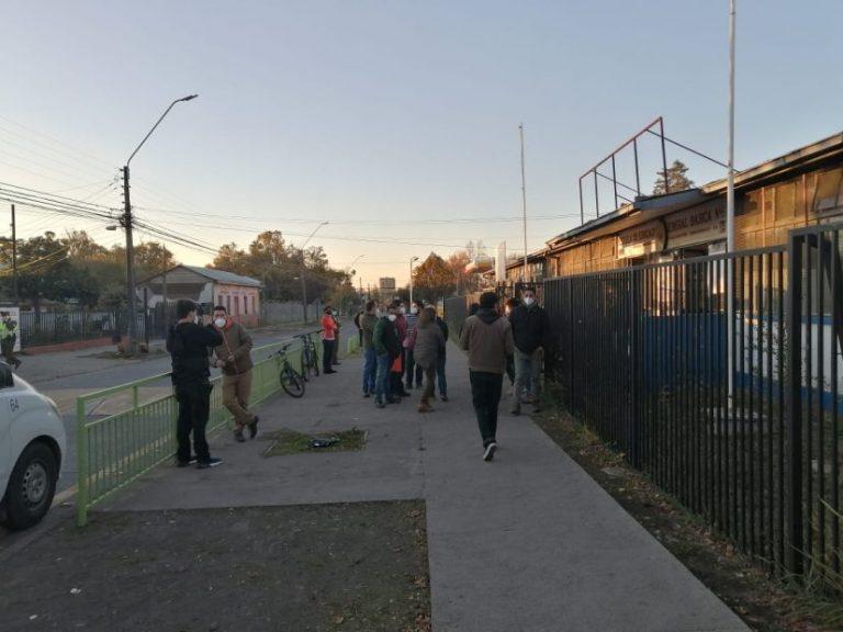 Polémica por caso covid en Escuela Blanco Encalada: «Se tiraron la pelota»