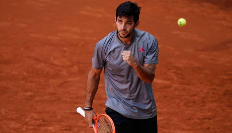 Triunfo histórico: Cristian Garin venció al 3° del mundo en el Masters de Madrid