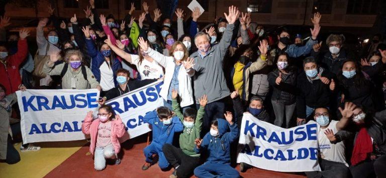 Krause gana con más del 77,58% de los votos