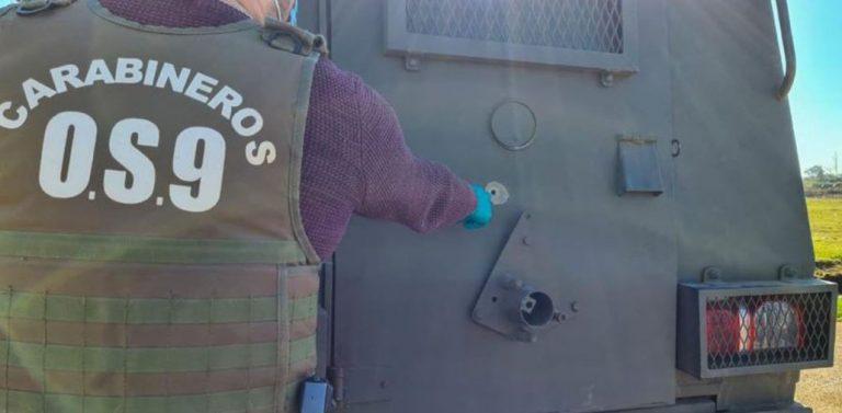Carro blindando de Carabineros fue atacado en Ercilla: hay dos funcionarios heridos