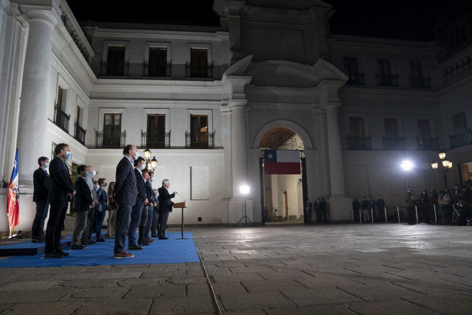 El presidente Sebastián Piñera frente a los resultados electorales hizo un mea culpa