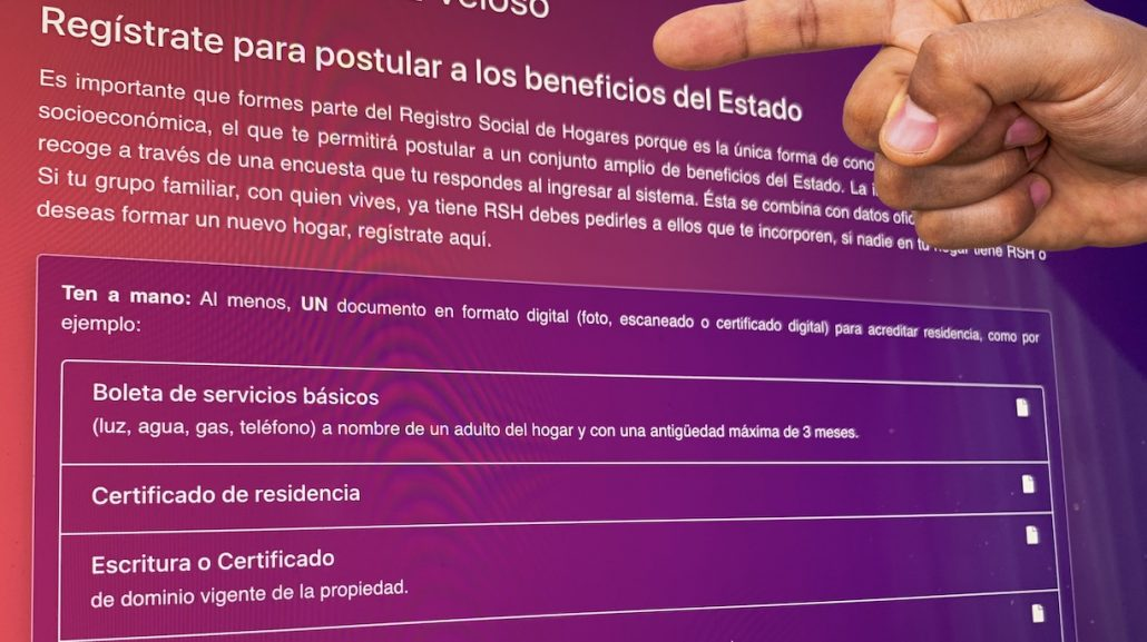 registro social de hogares como ingresar