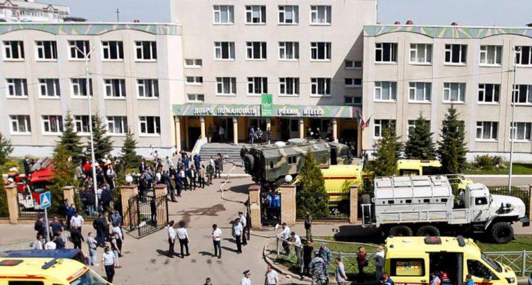 Tiroteo en una escuela de Rusia: sujeto de 19 años asesinó por lo menos a siete estudiantes y un maestro
