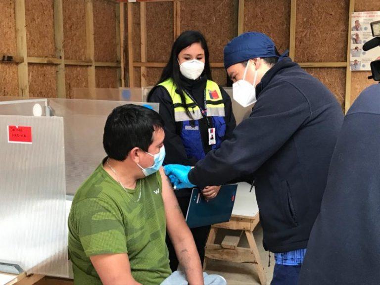 Región del Biobío ha completado vacunación Covid en 696 mil personas