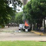 Auto bomba explota frente a instalaciones del ejército de Colombia